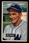1951 Bowman #241  Irv Noren  Front Thumbnail
