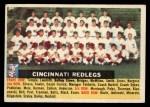 1956 Topps #90 CEN  Reds Team Front Thumbnail
