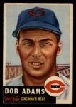 1953 Topps #152  Bobby Adams  Front Thumbnail