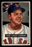 1951 Bowman #92  Junior Stephens  Front Thumbnail