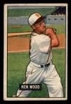 1951 Bowman #209  Ken Wood  Front Thumbnail