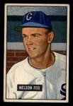1951 Bowman #232  Nellie Fox  Front Thumbnail