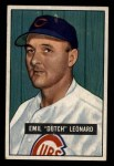 1951 Bowman #102  Dutch Leonard  Front Thumbnail