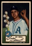 1952 Topps #31 BLK Gus Zernial  Front Thumbnail