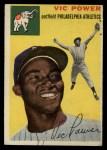 1954 Topps #52  Vic Power  Front Thumbnail