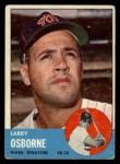 1963 Topps #514  Larry Osborne  Front Thumbnail