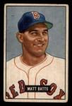 1951 Bowman #129  Matt Batts  Front Thumbnail