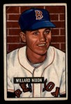 1951 Bowman #270  Willard Nixon  Front Thumbnail