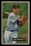 1951 Bowman #132  Cass Michaels  Front Thumbnail