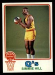 1973 Topps #184  Simmie Hill  Front Thumbnail