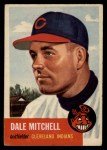 1953 Topps #26  Dale Mitchell  Front Thumbnail