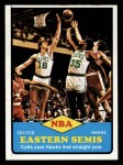 1973 Topps #63   NBA Eastern Semi-Finals Front Thumbnail