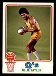 1973 Topps #262  Oliver Taylor  Front Thumbnail