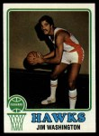 1973 Topps #87  Jim Washington  Front Thumbnail