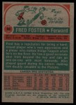 1973 Topps #56  Fred Foster  Back Thumbnail