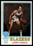 1973 Topps #69  Larry Steele  Front Thumbnail