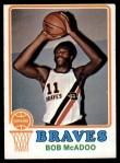 1973 Topps #135  Bob McAdoo  Front Thumbnail