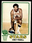 1973 Topps #186  Cincy Powell  Front Thumbnail