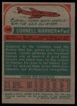 1973 Topps #12  Cornell Warner  Back Thumbnail