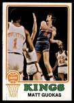 1973 Topps #18  Matt Guokas  Front Thumbnail