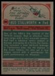 1973 Topps #58  Bud Stallworth  Back Thumbnail