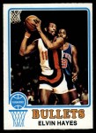1973 Topps #95  Elvin Hayes  Front Thumbnail
