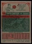 1973 Topps #111  Fred Carter  Back Thumbnail