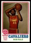 1973 Topps #138  Bob Rule  Front Thumbnail