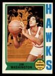 1974 Topps #41  Jim Washington  Front Thumbnail