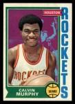 1974 Topps #152  Calvin Murphy  Front Thumbnail