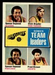 1974 Topps #97  Dick Snyder / Spencer Haywood / Fred Brown  Front Thumbnail