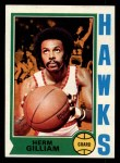 1974 Topps #5  Herm Gilliam  Front Thumbnail
