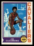 1974 Topps #42  Jim Cleamons  Front Thumbnail