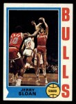 1974 Topps #51  Jerry Sloan  Front Thumbnail