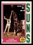 1974 Topps #62  Clem Haskins  Front Thumbnail
