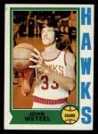 1974 Topps #77  John Wetzel  Front Thumbnail