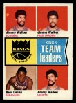1974 Topps #89   -  Sam Lacey / Jimmy Walker Kings-BskB Team Leaders Front Thumbnail