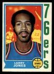 1974 Topps #103  Larry Jones  Front Thumbnail