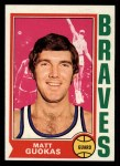 1974 Topps #117   Checklist 1-132 Front Thumbnail