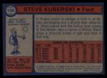 1974 Topps #136  Steve Kuberski  Back Thumbnail