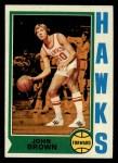 1974 Topps #139  John Brown  Front Thumbnail