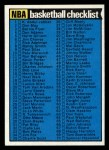 1974 Topps #141   Checklist Front Thumbnail