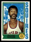 1974 Topps #188  Roland Taylor  Front Thumbnail