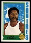 1974 Topps #198  Cincy Powell  Front Thumbnail