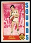 1974 Topps #199  Glen Combs  Front Thumbnail