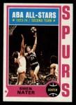 1974 Topps #205  Steve Nater  Front Thumbnail