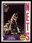 1974 Topps #216  Larry Kenon  Front Thumbnail