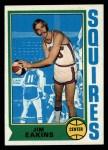 1974 Topps #258  Jim Eakins  Front Thumbnail