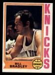 1974 Topps #113  Bill Bradley  Front Thumbnail