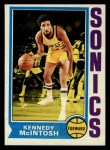 1974 Topps #173  Kennedy McIntosh  Front Thumbnail